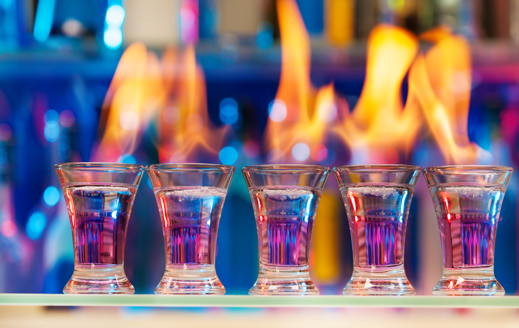5flamingcocktails